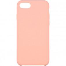 Чехол для iPhone InterStep для iPhone 8 IS SOFT-T METAL ADV розовый